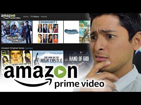 Probé Amazon Prime Video... y mejor no lo contrates