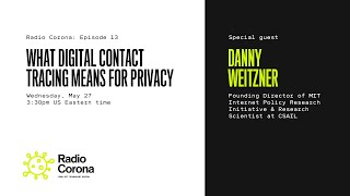 Radio Corona: What digital contact tracing means for privacy