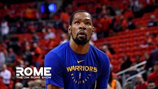 Kevin Durant VENTS Out All His Frustrations | The Jim Rome Show