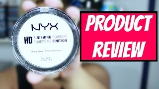 NYX HD Finishing Powder FLASH TEST | ThePopHeir | PRODUCT REVIEW