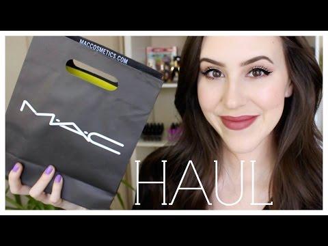 Mac Makeup Haul 2015 - Beauty with Emily Fox - 동영상