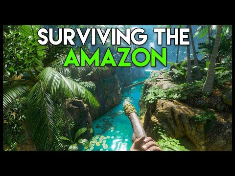 GREEN HELL! *NEW* Amazon Rainforest Survival! (Green Hell Gameplay Part 1)