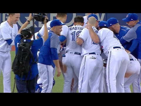 Blue Jays' Top FIve plays of the first half