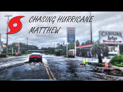 10/07-10/08/2016 - Hurricane Matthew Chase - Savannah, GA/Ridgeland, SC.