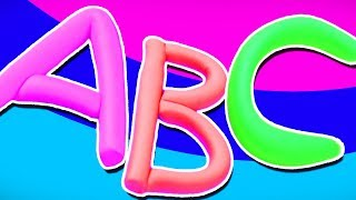 Play Doh Alphabets | A To Z | Learning Videos For Children By Kids Channel