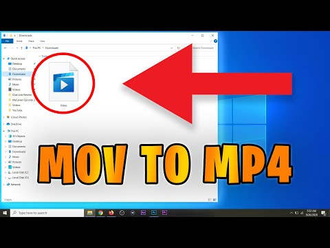 How to Convert Mov to Mp4 in Windows 10 FAST! NO SOFTWARE (2020)