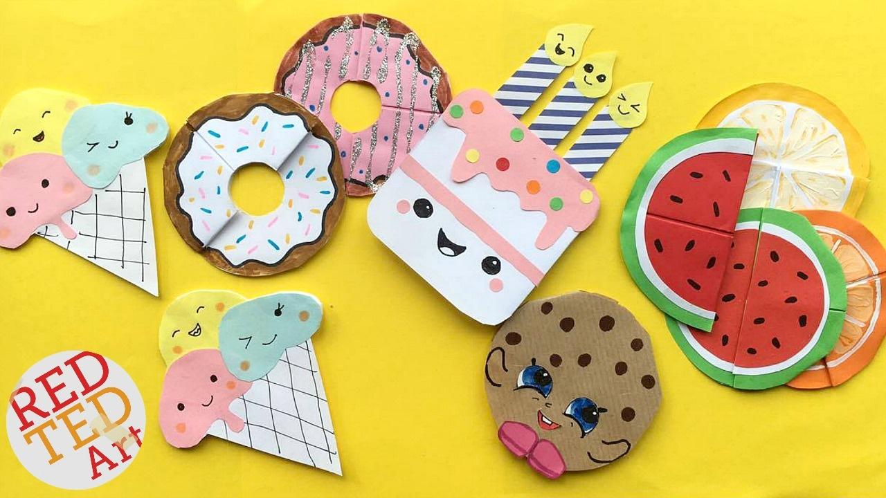 5 Easy Kawaii Bookmark DIYs – DIY Ice Cream, Cookie, Cupcakes, Melon Bookmarks