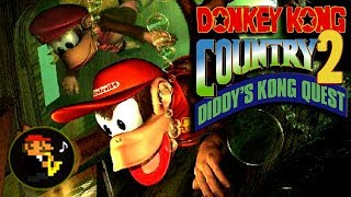 ♫Lockjaw's Saga Remix! Donkey Kong Country 2 - Extended!