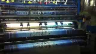 видео многоигольная стегальная машина