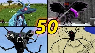 TOP 50 Minecraft  Monster Mobs - Best Minecraft Mods [ 2016 MOD ] thumbnail