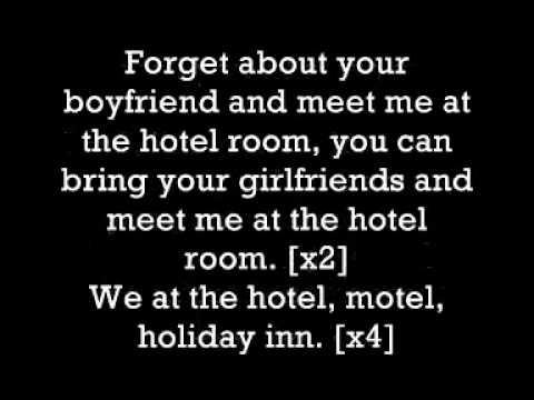 hotel room service lyrics pitbull