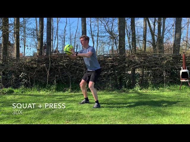 Full Body Workout met bal | Thuis Trainen met de Sportpleats