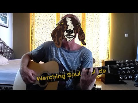 Watching Souls Collide Live Bedroom Music Video by 12 String Guitarist Ylia Callan
