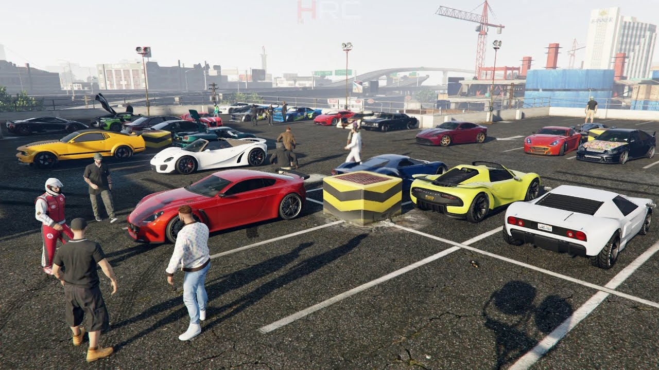 Grand Theft Auto V Online Supercar Meet Cruise