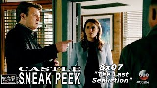 "Castle 8x07 Sneak Peek #2   Castle Season  8 Episode 7 Sneak Peek ""The Last Seduction"""