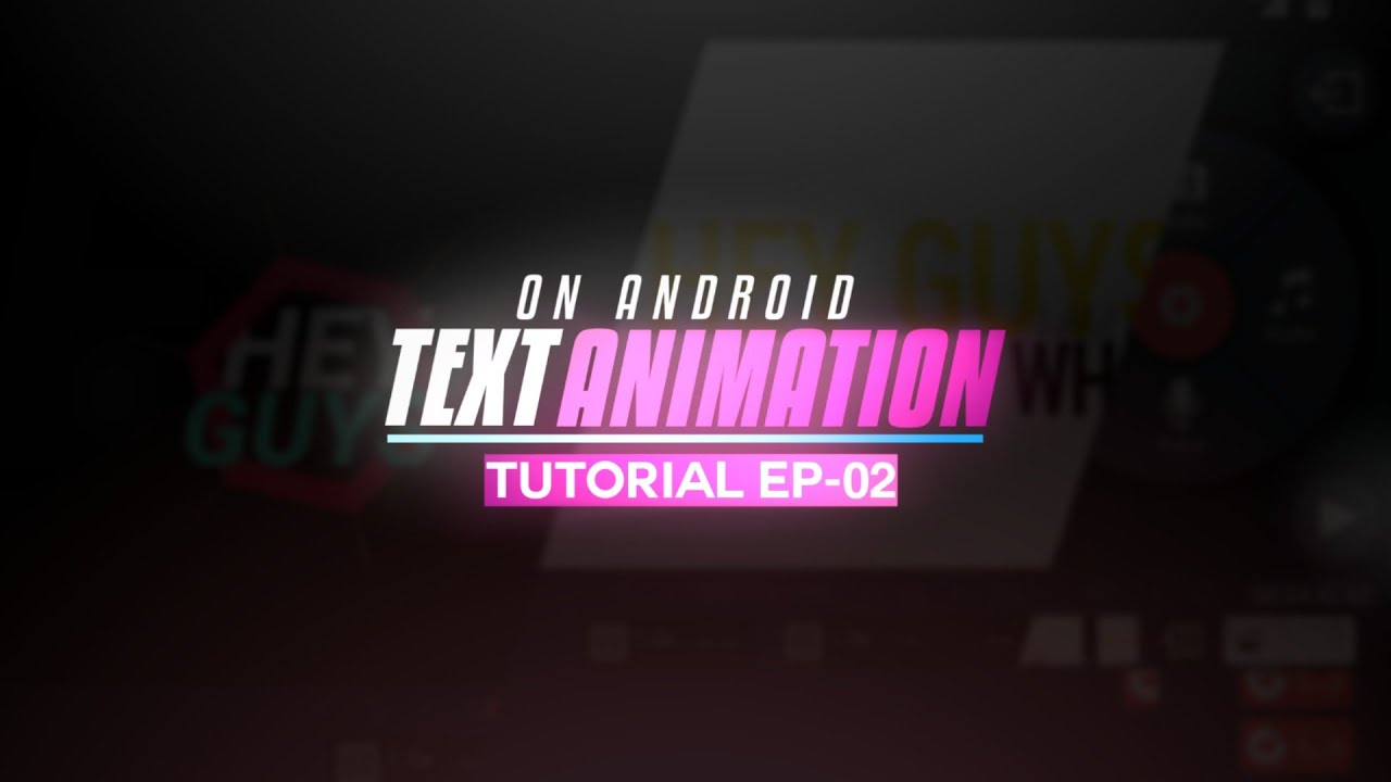 Android Text Animation Effect