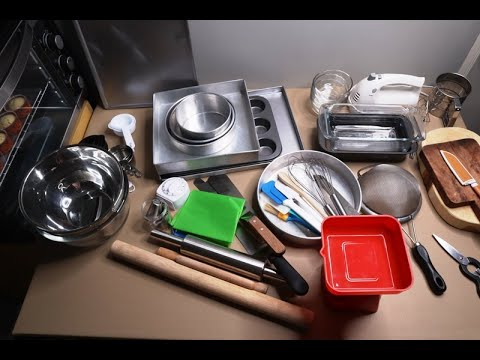Baking Tools And Equipment For Beginners