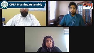 CPSA Morning Assembly Wednesday February 24, 2021