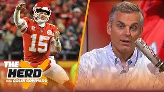 Colin Cowherd: NFL has adapted for Brady, Mahomes' career may end up like Marino | NFL | THE HERD