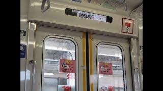 東武鉄道東武日光線 20400型22412栃木←新栃木