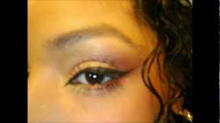 Easy Tropical Summer Sunrise Eye Shadow Makeup Tutorial : Natural Soft Daytime Look Eyeshadow