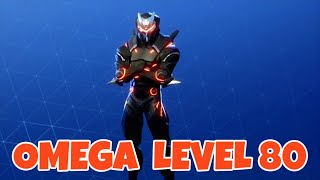 Fortnite - Season 4 Battle Pass! OMEGA Skin Level 80 Max With All Upgrades!