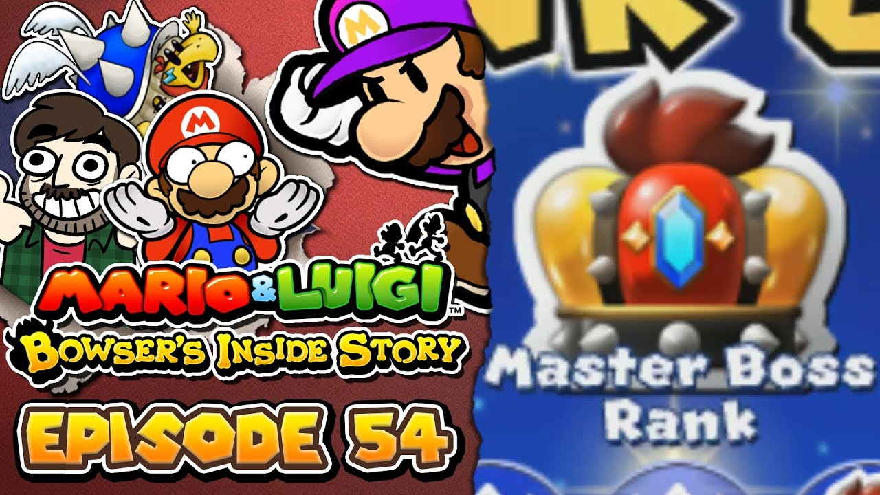 Mario Luigi Bowser S Inside Story 3ds 54 Reaching New Heights