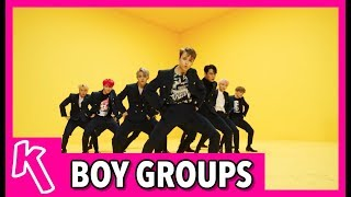 KMA'S BOY GROUP OF THE YEAR NOMINEES 2017