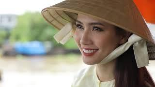 Hoa hậu Đại sứ Du lịch Phan Thị Mơ giới thiệu vẻ đẹp quê hương Tiền Giang