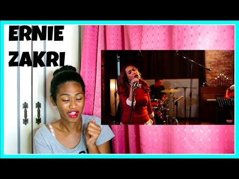 UNPLUGGED: ERNIE ZAKRILOVE ON THE BRAIN AKUSTIK RIHANNA COVER | Reaction