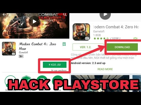 How To Download Modern Combat 4 (PLAYSTORE HACK)