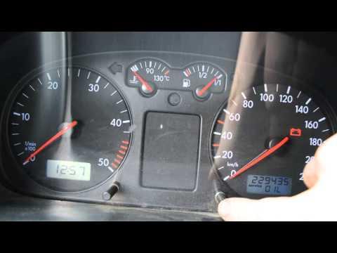 Сброс межсервисных интервалов VW Transporter T4 1999 -SERVICE OIL (OEL), SERVICE INSP