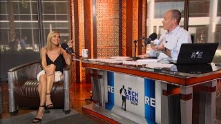 """Actress Arielle Kebbel of HBO's """"Ballers"""" Joins The RE Show in Studio - 7/25/16"""