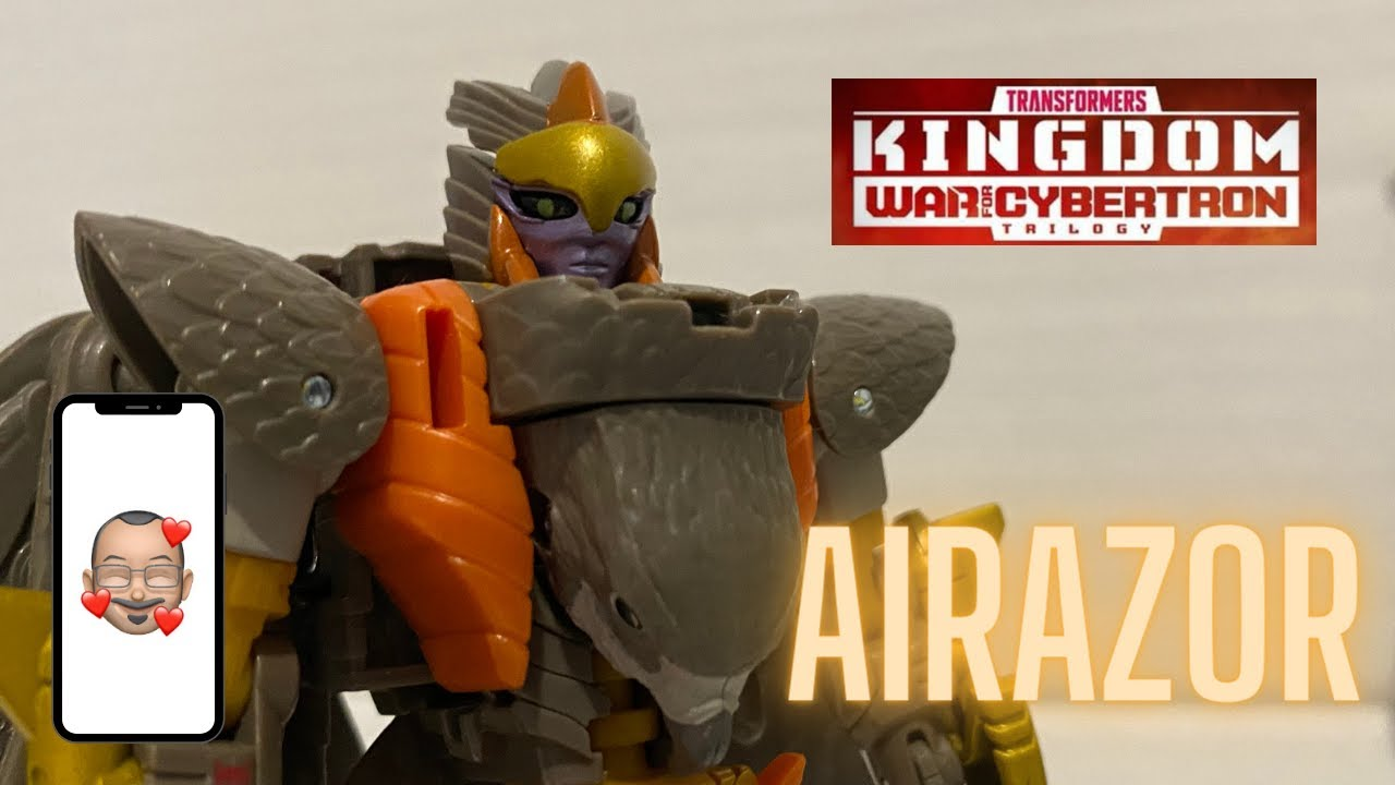 Transformers Kingdom Airazor Review by Aikavari