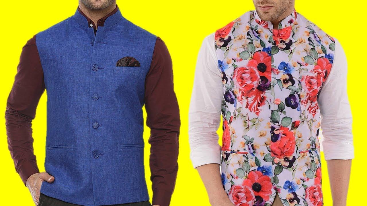 Indian Nehru Koti Kurta Designer Traditional Waist Coat Party Wear Modi Jacket