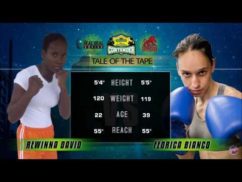 Rewinna David vs Federica Bianco