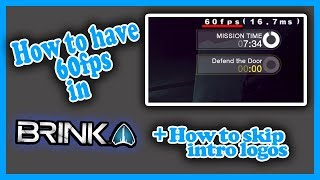 How to play Brink at 60 FPS on PC // How to unlock Brink's Frame Rate Cap