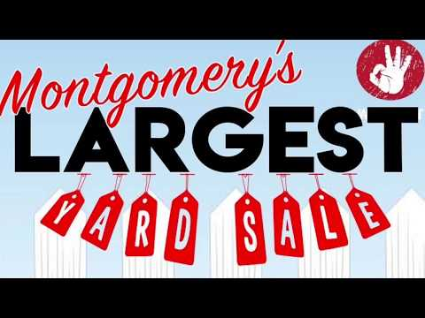 Photos - WATCH: Video from Montgomery's Largest Yard Sale