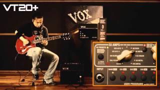vOX Valvetronix VT20 Sound Check!!