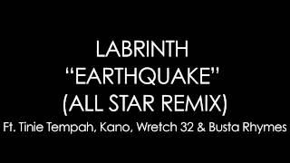 Labrinth - Earthquake ALL STAR REMIX lyrics