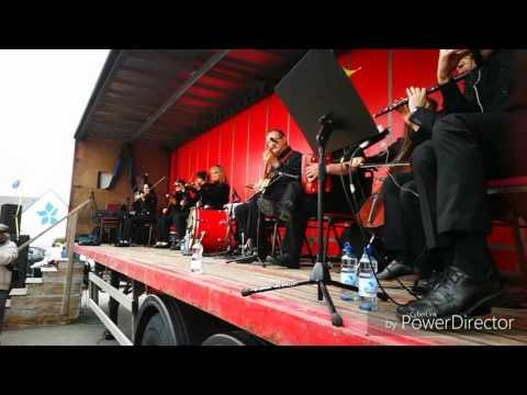 Kilfenora Ceili Band Open Air in Kilfenora 2017