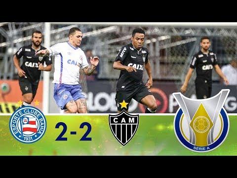 Melhores Momentos - Bahia 2 x 2 Atlético-MG - Campeonato Brasileiro (30/07/2018)