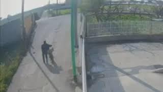 Uomo abbandona rifiuti in Via Anseramo
