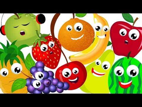 Ten in The Bed | Learn Fruits Song | Nursery Rhymes Songs | Baby Videos | Kids Tv Nursery Rhymes