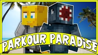 Minecraft - PARKOUR PARADISE! - Custom Map W/AshDubh
