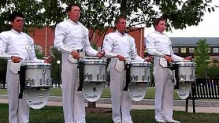 Download Phantom Regiment 2010 Drumline Snares lot warmup 11 -- Quarterfinals MP3 song and Music Video