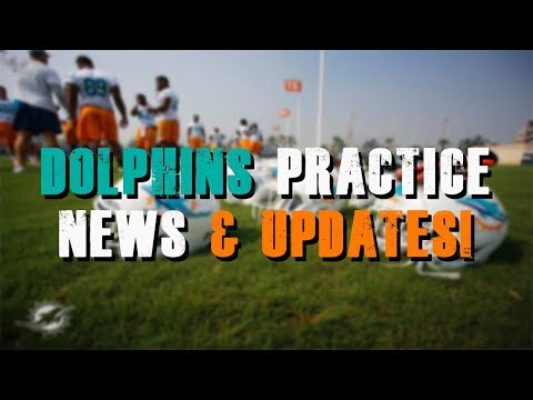 Miami Dolphins Practice News & Updates!/ Ford Injury Scare!