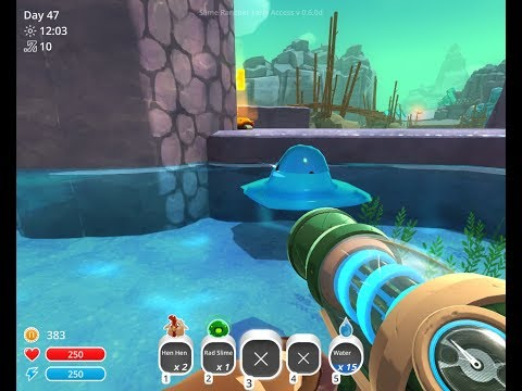 SlimeRancher how to get puddle slimes