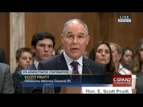 Pruitt Defends Mercury Record