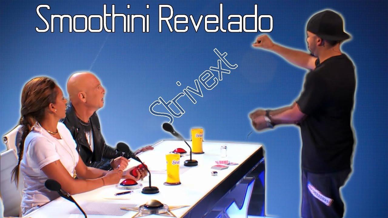 Smoothini Revelado: Desaparecer sal y liquido, [America's Got Talent] Revealed